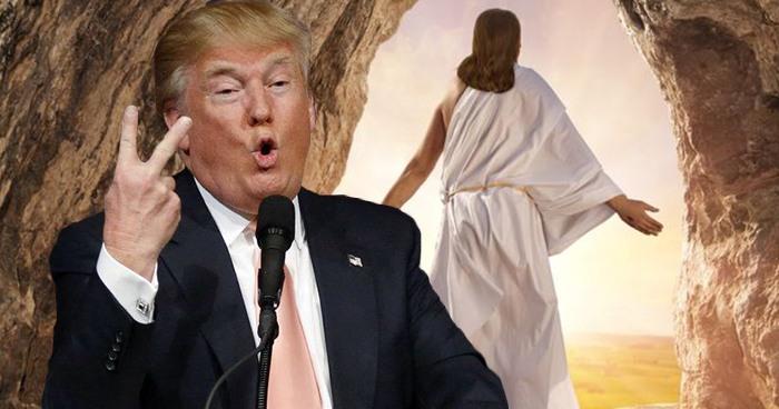 Trum And Jesus