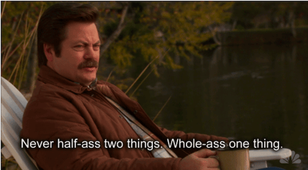 Whole Ass Ron Swanson Quotes