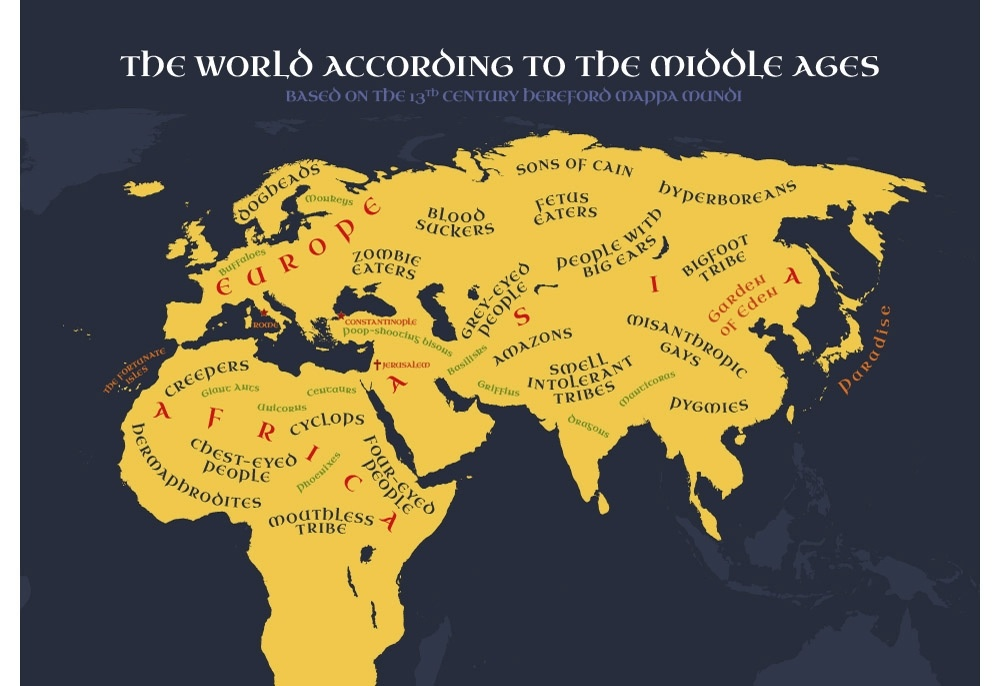 World According To The Middle Ages