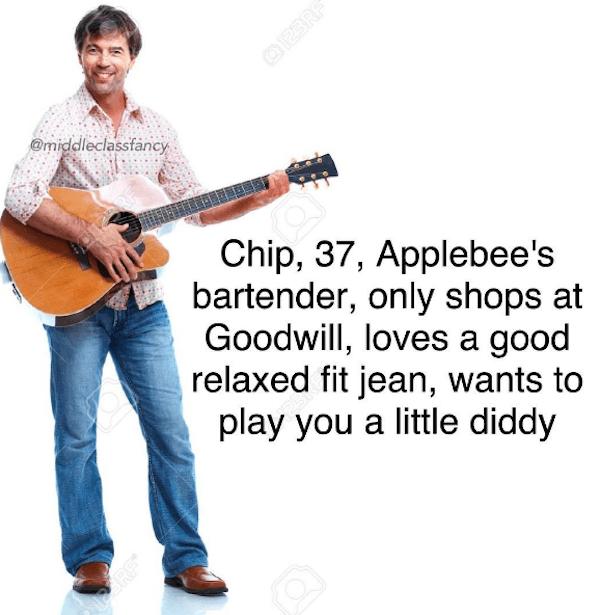 Applebees Musician