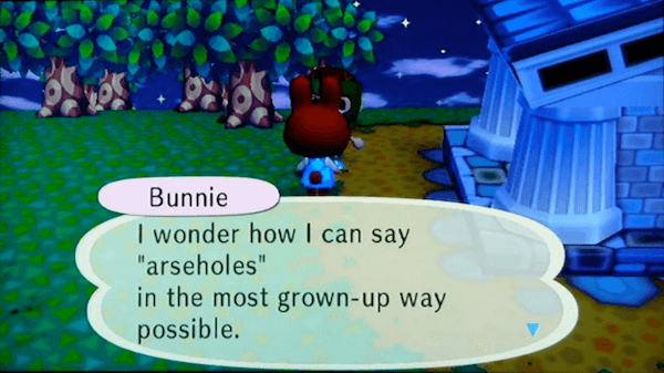 Funny Animal Crossing Screenshots