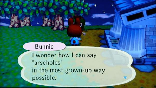Funny Animal Crossing Screenshots