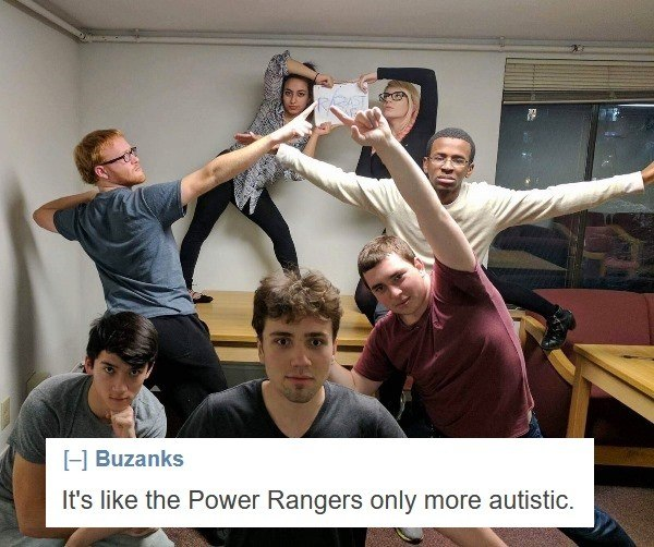 Autistic Power Rangers
