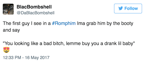 Bad Bitch Funny Romphim Reactions