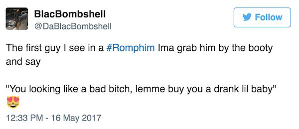 Bad Bitch Funny Romphim Reactions