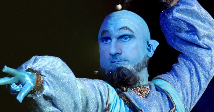 Bashar Al-Assad Plays The Genie In Aladdin