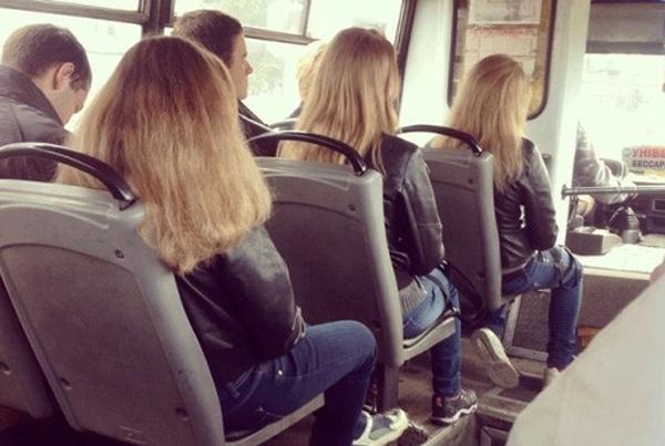 Blonde Bus Girls