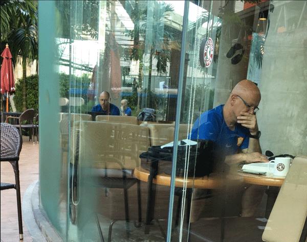 Blue Shirt Baldies