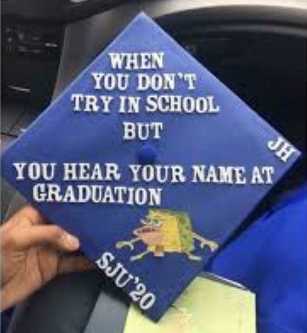 "Graduation Cap Clever Girl: 45 Funny Graduation Caps That Definitely Say ""Now I'm A"