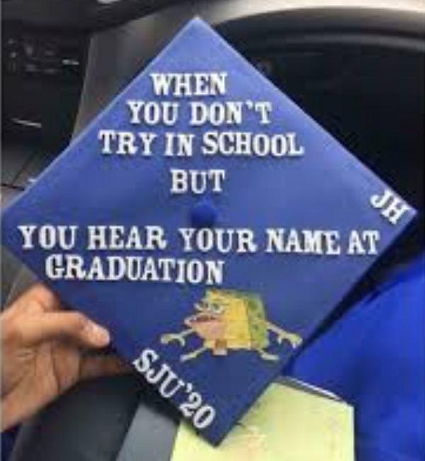 Clever Graduation Cap