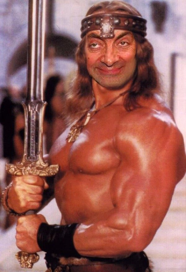 Conan Mr. Bean Photoshops