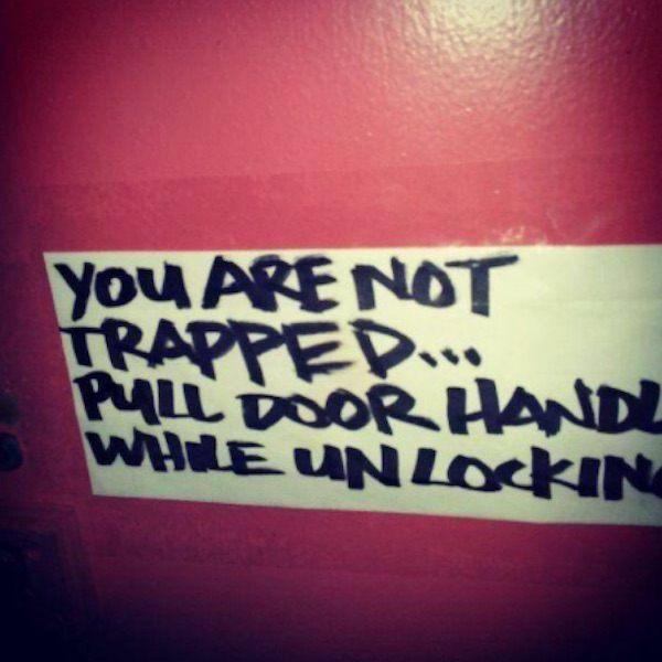 Door Instructions