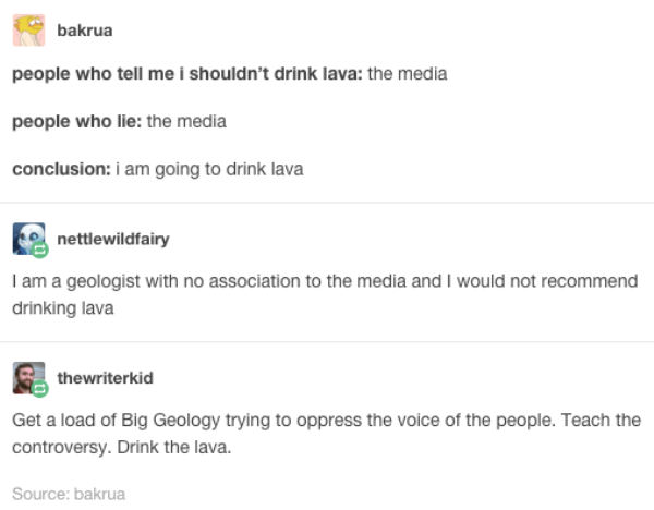Drink The Lava