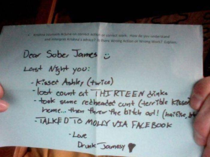 Drunk Jamessy