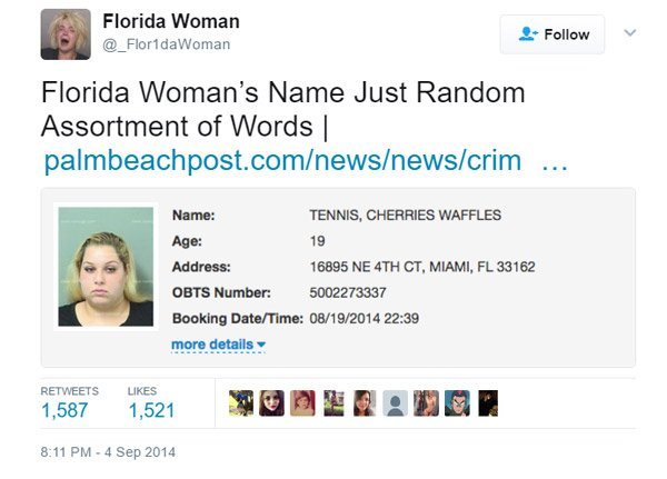Florida Woman Name