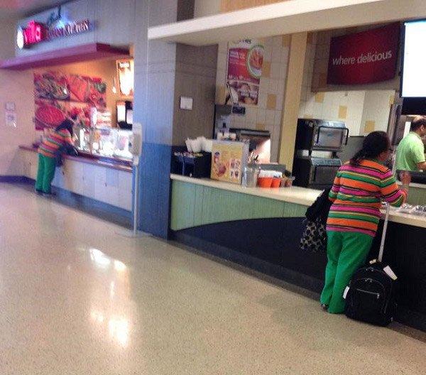Food Court Lady