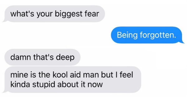 Funny Texts Biggest Fear