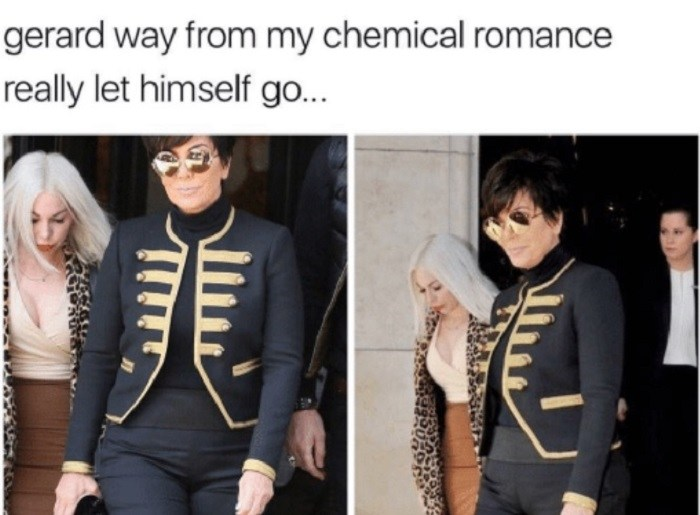 Gerard Really Let Himself Go