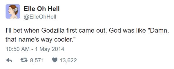 Godzilla Hilarious Twitter Jokes