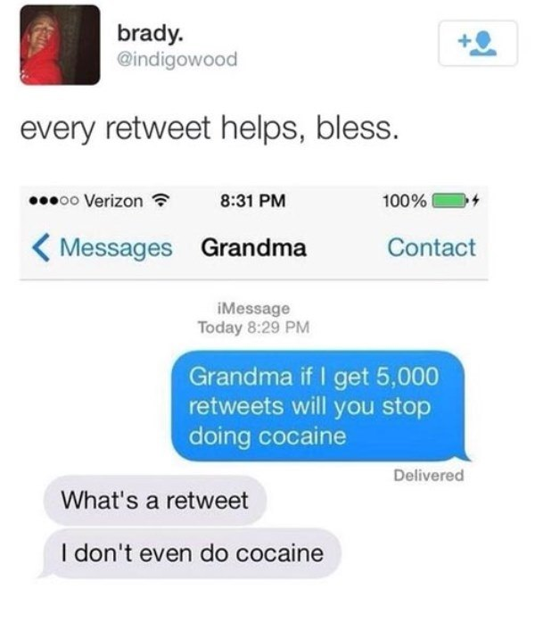 Grandma Loves Blow