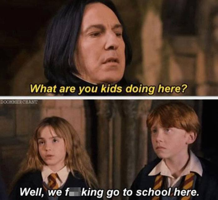 Harry Potter Memes School Here