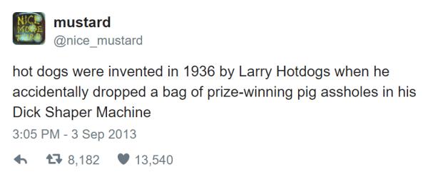 Hot Dogs Twitter Jokes