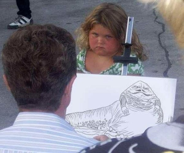 Jabba Drawing