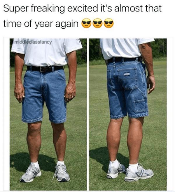 Jean Shorts Golf