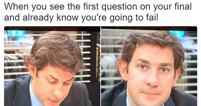 Jim Studying