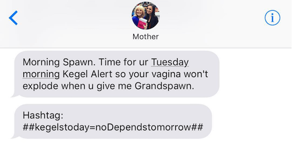 Jewish Mother Texts Twitter