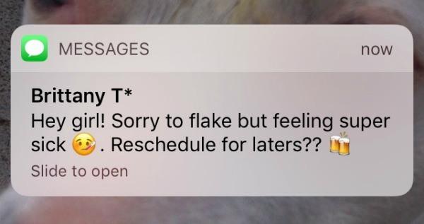 Make Friends Cancel Plans