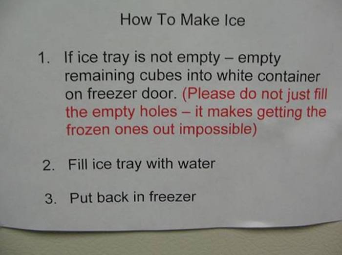Make Ice