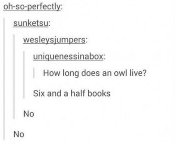 Owl Live Harry Potter Memes