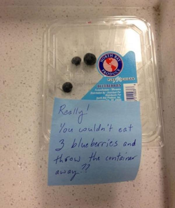 Parent Notes Blueberries