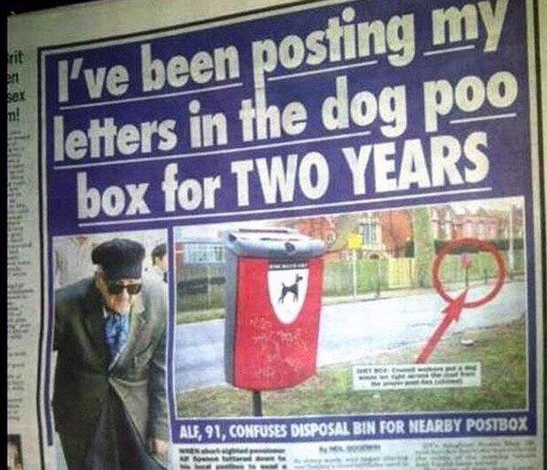 Poop Mail