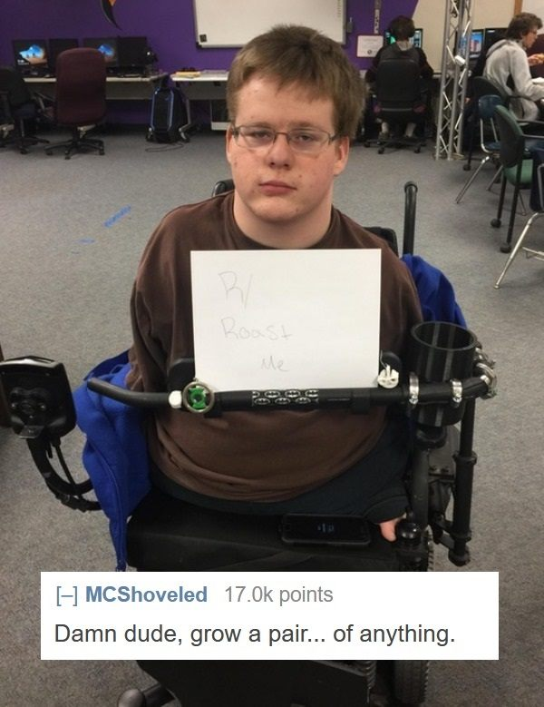 Quadriplegic Roast