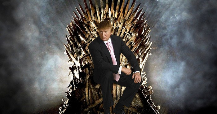 Trump On The Iron Throne
