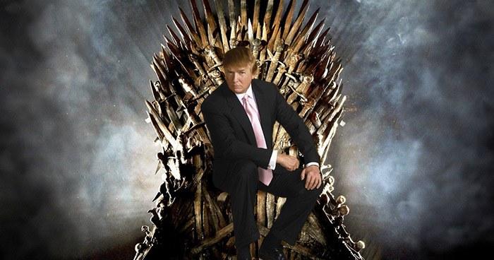 Trump On The Iron Throne