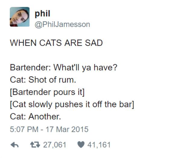 When Cats Are Sad