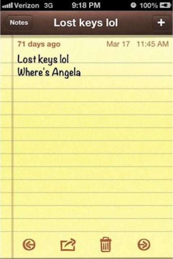 Wheres Angela
