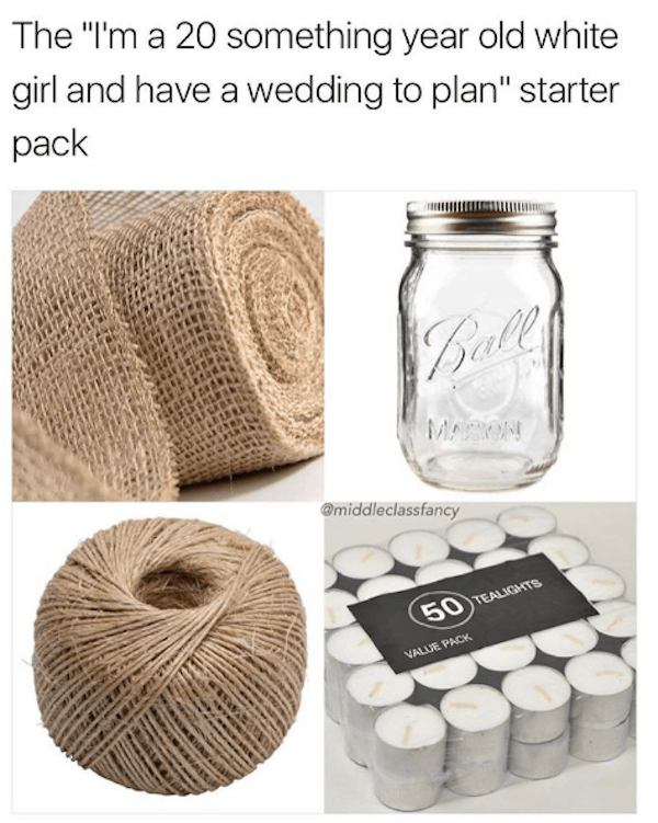 White Girl Wedding