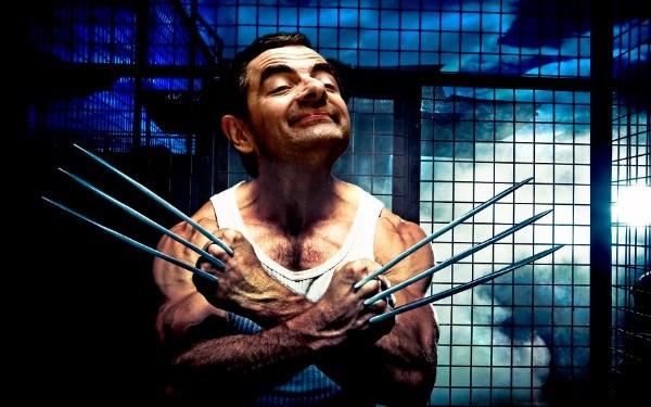 Mr. Bean As Wolverine