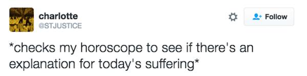 Horoscope Memes Suffering