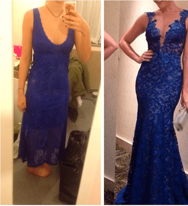 Prom Dress Fails Blue