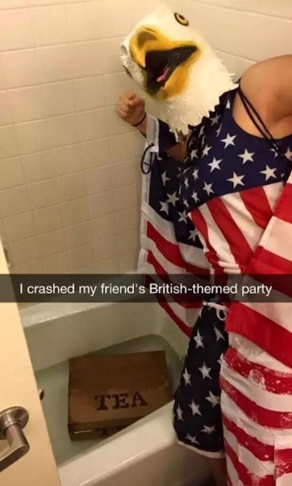 America Is Great British Party