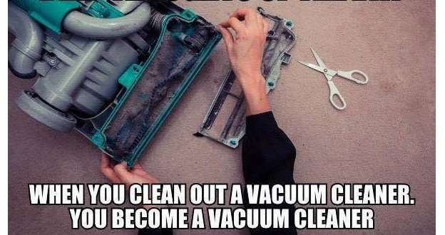 Becoming The Vacuum Cleaner