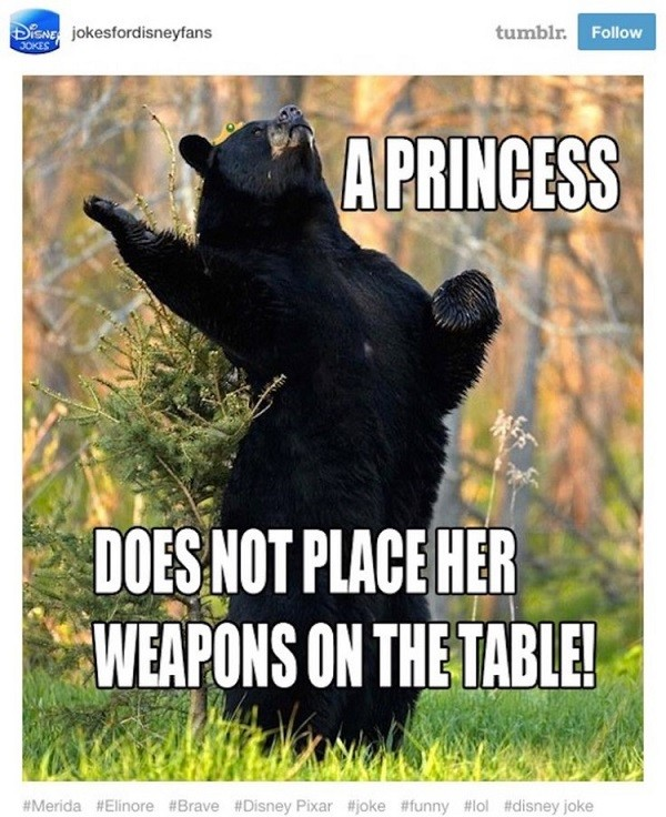 Brave Bear Disney Funny