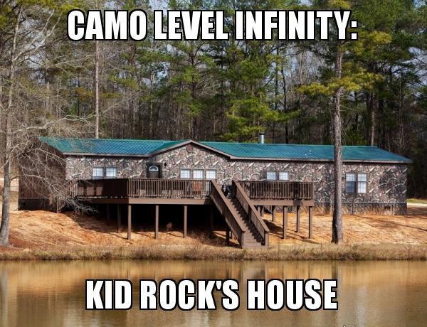 Camo Level Infinity