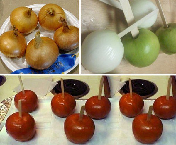 Candy Apples Prank