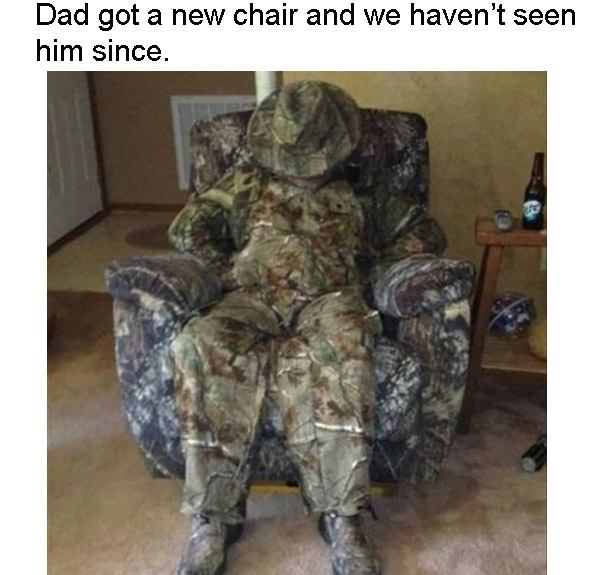 Dads New Chair